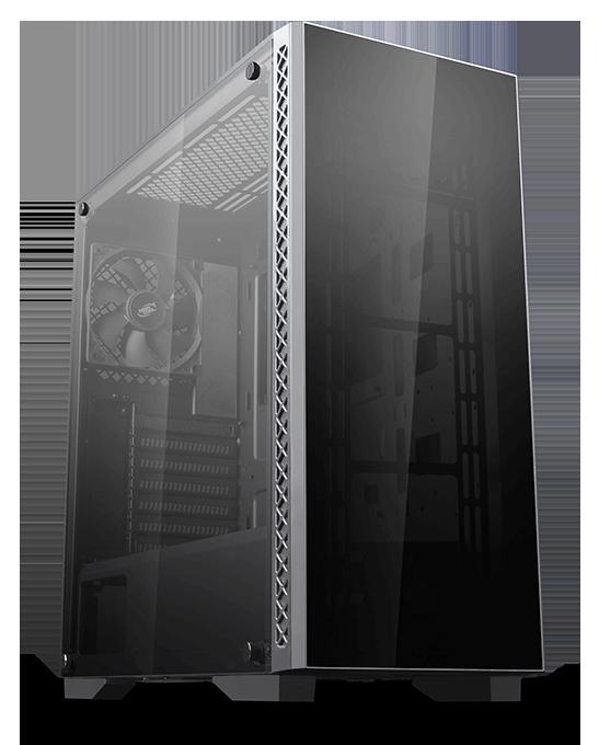 DEEP COOL Matrexx 50 ADD-RGB 4F mit Netzteil-Kontaktschutz 4 mm-Dualhartglasscheiben ATX PC Geh/äuse 4 x 120mm ARGB L/üfters
